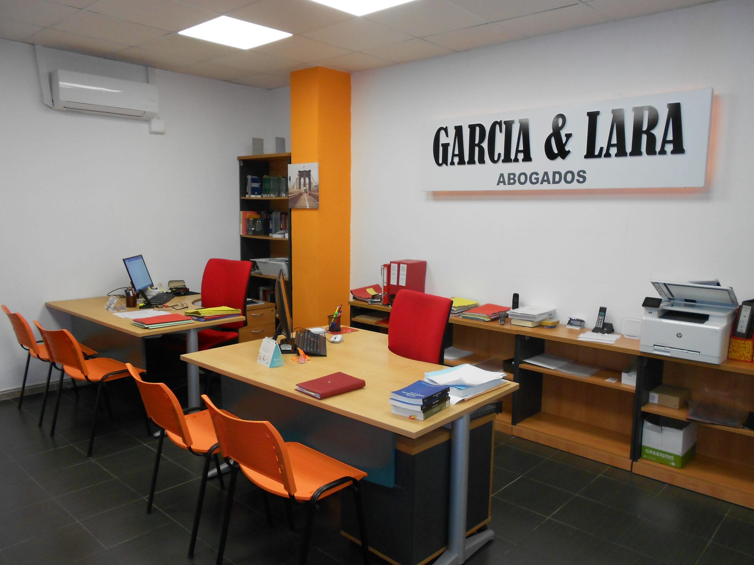interior bufete garcia lara Vendrell Tarragona